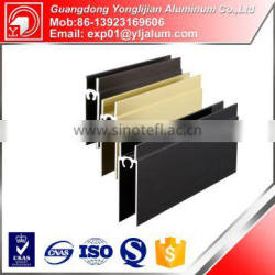 China competitive price for aluminium profile sliding wardrobe door