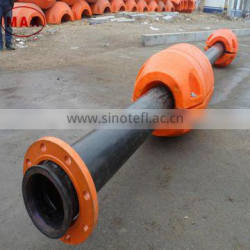 Professional design dredging pipe floats /floater with positioning groove