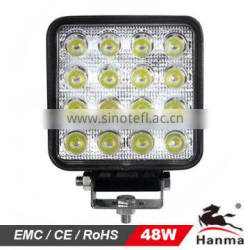 HANMA Hot Sale! Super Bright Auto LED Work Light/LED Auto Light for Trucks/ATV/Construction/Mining IP67