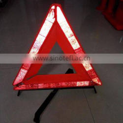 cheap safety reflective led warning triangle