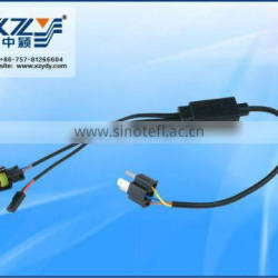 H4-3 HID kit wire relay harness