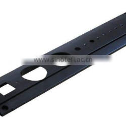 Extrusion Black Anodized Aluminium Faceplate