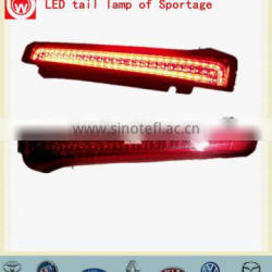 PMMA+ABS automobile LED rear lights for Sportage