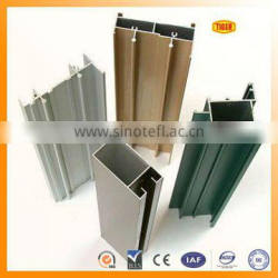 6063-T5 powder coated extruded aluminum windows