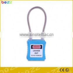 nylon cable padlock safety lockout self-lock nylon cable tie lock