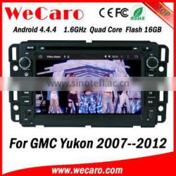 Wecaro WC-GU7036 Android 4.4.4 dvd player 1024*600 for gmc yukon car multimedia 2007 - 2012 bluetooth