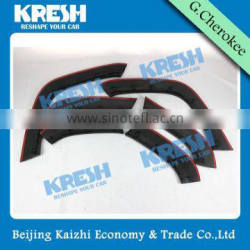 NEW KRESH brand hot sell SRT8 Fender Flares for Grand Cherokee Summit and SRT8 4x4 SUV accessories from Kaizhi Manufacturer