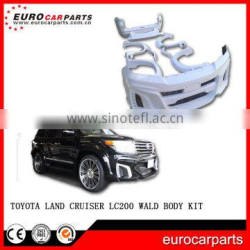 Land -Cruiser W- Style LC200 Body Kit for LC200 08-14Y FRP Material