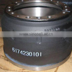 truck and semi-trailer brake drums 6174230101