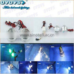 Guangzhou accessary mini Led fish motorcycle light driving/flashing with different color