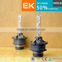 EK LIGHTING LTD 3800LM D1 D2 D3 D4 Bulbs Auto Parts Headlight D1S D2S D3S D4S hid xenon bulb 35w 55w 75w 100w h3 6000k hid bulb