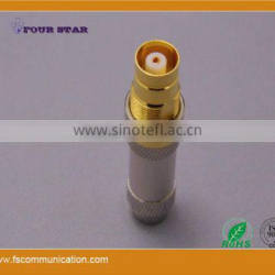1.6/5.6 Female Bulkhead Crimp Connector for SYV-75-2-2 Cable