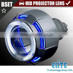 2.5 inches ABQ/ABJ Mini Bi-Xenon HID Projector Kit Angel devil eye Headlight Projector Lens