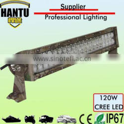 wholesale led light bar 120w 24.8 inch camouflage double row headlight for jeep