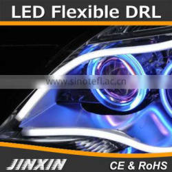 Switchback LED light Xenon White-Amber Headlight DRL Daytime Running Light