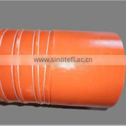 Silicone hot air duct with glass fiber cord reinforced