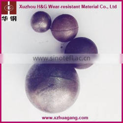Factory direct sale low chrome steel ball casted grinding ball