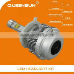 Factory offer 30W 3600lumens H4 super bright automatic headlight kit h4