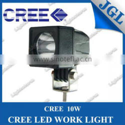 Excellent design 10w cree led working light top quality in factory price off road light for jeep suv atv boat mini work light