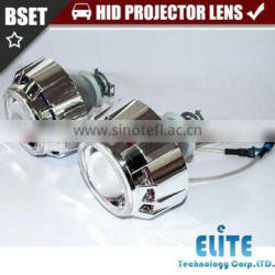 3.0HQTdouble angel eyes plastic HID projector headlight xenon light kit