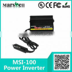 CE RoHS 100 Watt DC to AC Mini Car Inverter (MSI-100)