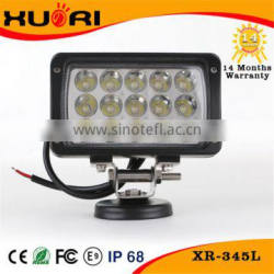 Hot Product Waterproof Rate IP67 12 Volt 24 Volt 45W Led Tractor Work Lights Truck Car Boat Auto Led Working light