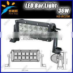 high brightness C ree chip 36w led light bar for tv, for truck, offroad led light bar