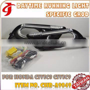 Body Kit Refit FOR HHONDA CIVIC LED CAR DRL Daytime Running LIGHT