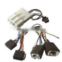 car audio wire harness adaptor assembly