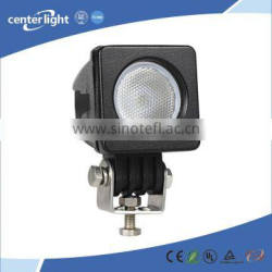 Car accessories IP68 12V 10w offroad led work light for car
