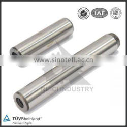 M12 high quality threaded stainless steel dowel pin with internal thread