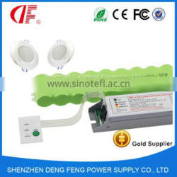 T5 T8 tube Emergency Lighting Module with emergency power kits for 12W 1h ~ 3h