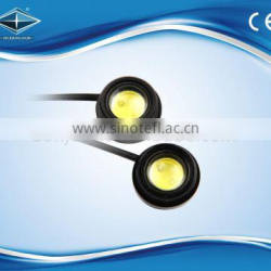 12V led high power 2.5W eagle eyes warterproof daytime running light backup light for auto motorcycle accessories