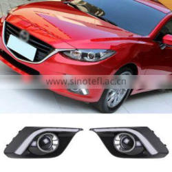 Auto LED Car Daytime Running Lights DRL For Mazda 3 Axela Sedan/Hatchback 2013 2014 2015 Quality Choice