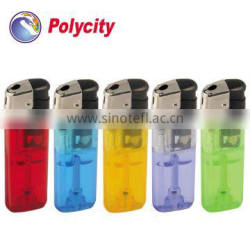 Polycity refillable electronic cigarette lighter