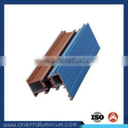 low price aluminium profile for showcase