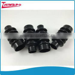 Custom Compression Molded accordion bellow Flexible Corrugated Silicone rubber Bellows