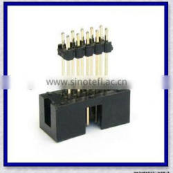 Box Header with Pin Header Insulator pitch 1.27mm/2.00mm/2.54mm