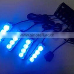 CAR LED STROBE LIGHT,DASH LIGHT (SR-LS-007B-4), 1W TOP BRIGHT LED