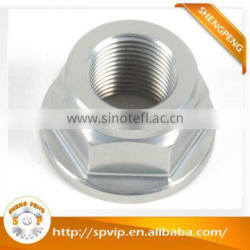 China manufacturer best price cnc turning parts aluminum nuts