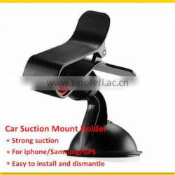 Universal Rotatable Suction Mount Car Holder For Mobile Phone PDA GPS MP3 MP4