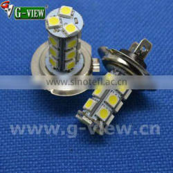 Best price car fog light 18smd 5050 car led bulb H7/H4 car fog light led bulb
