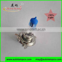 H4 Quartz glass Automotive halogen bulb 50% LIGHTING