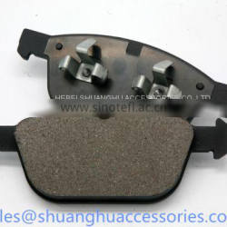 Brake pads for Mercedes-benz auto car.Semi metallic material