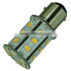 10-30V DC Tower double contact 2835 SMD 1157 led bulb