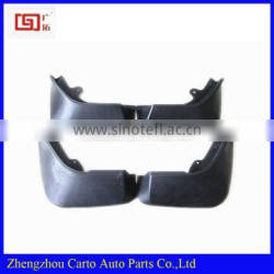 BLACK MUDGUARD FENDERS RUBBER MUD FLAP SPLASH GUARDS FOR 2015 LAND*ROVER DISCOVERY