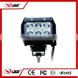 Spot flood beam 3.8inch waterproof 18w led work light bar