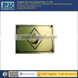 high technology customized brass engraving plates