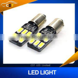 BA9S CANBUS 12SMD 5630 5730 LED car Interior Bulbs Wedge Lamp Car Indicators Light