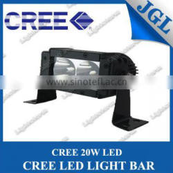 5.5inch 20W CREE LED light bar 12v off-road led lighting 4x4 cars, trucks,atv,utv light bars led,car accessory